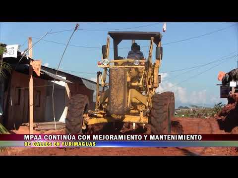 MPAA CONTINÚA MEJORAMIENTO Y MANTENIMIENTO DE CALLES EN YURIMAGUAS