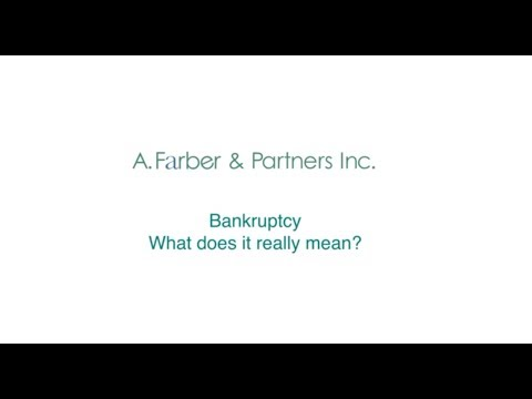 Bankruptcy In Canada: What Does It Really Mean?