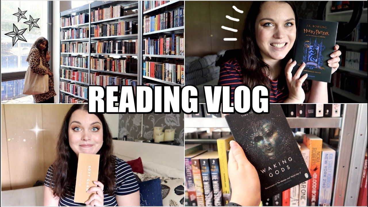 EXCITING NEW BOOKS & COME BOOK SHOPPING WITH ME! | Reading Vlog