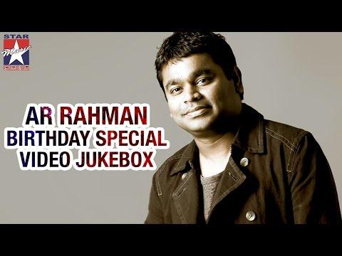 AR Rahman Superhit Tamil Video Songs | Birthday Special Jukebox | Star Music India