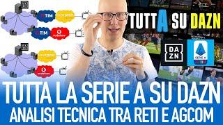 Perché la Serie A su Dazn potrebbe creare problemi alla rete internet? La proposta di AGCOM spiegata