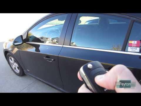 Open/Close Windows On Chevy Cruze From Key Fob