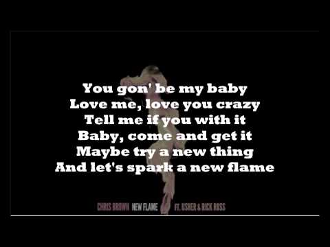 Chris Brown - New Flame (Lyrics) [HD]