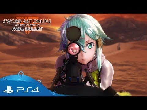 Sword Art Online: Fatal Bullet   Gamescom 2017 Trailer   PS4