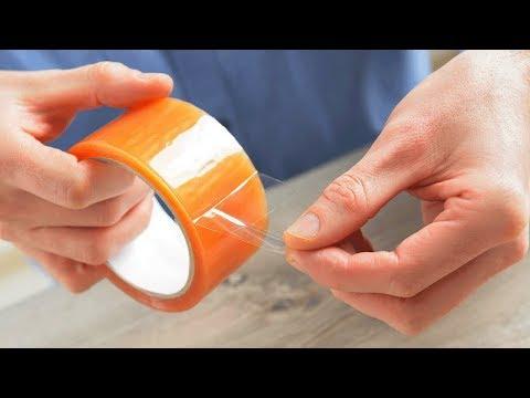 Как убрать следы от скотча с пластика