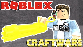 Roblox | CRAFT TREE 6 GOLDEN BARREL MINI-Craftwars | KiA Pham