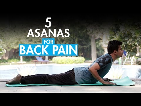 Easy Yoga Moves to help ease Back Discomfort