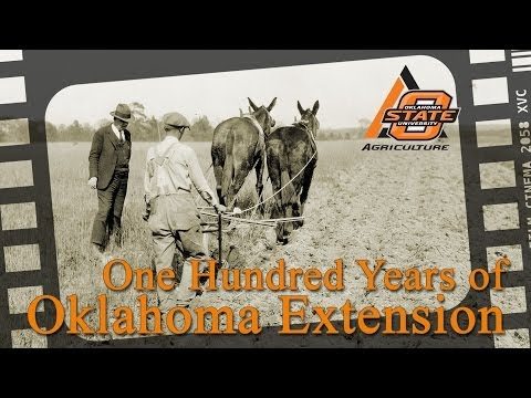 100 Years of Oklahoma Extension