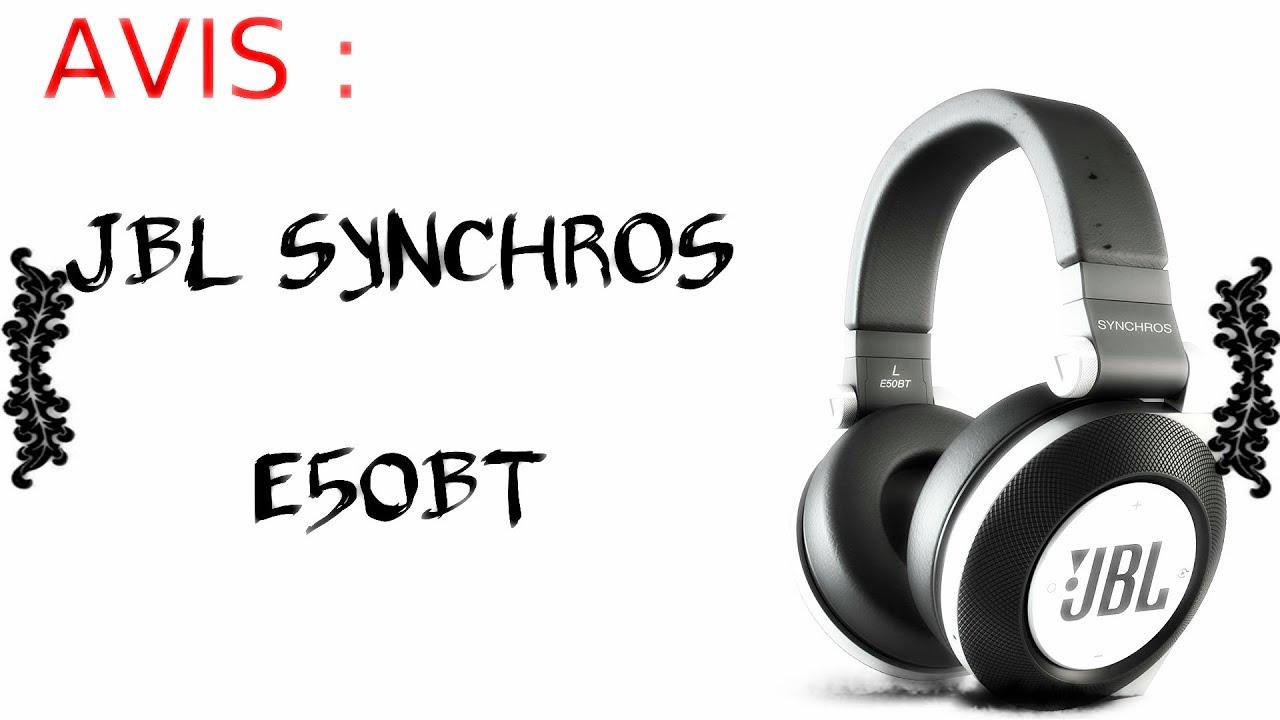 Avis Jbl Synchros E50bt Youtube
