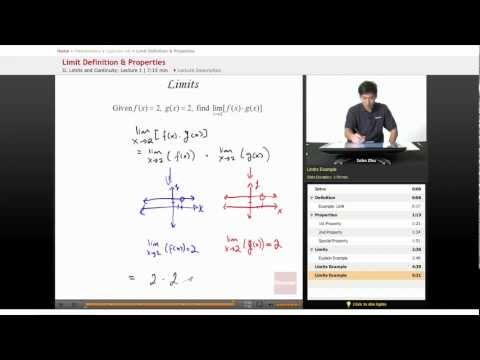 AP Calculus AB - Limit Definition & Properties