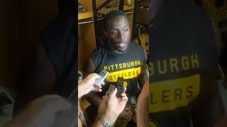 James Washington post game interview (8/10)