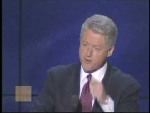 Bill Clinton-Remarks at the Democratic National Convention (August 29, 1996)