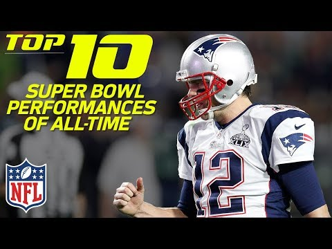 Top 10 Super Bowl Performances of All-Time | NFL Highlights