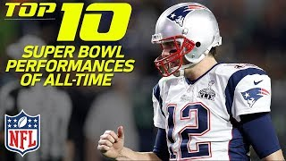 top 10 super bowl performances of all time nfl highlights