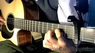 merry christmas - guitar finger style