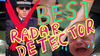 BEST RADAR! Demonstration of (V-1) Valentine One Police Radar Detector