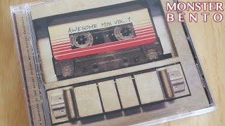 Guardians of the Galaxy - Awesome Mix Vol 1 Soundtrack CD Review