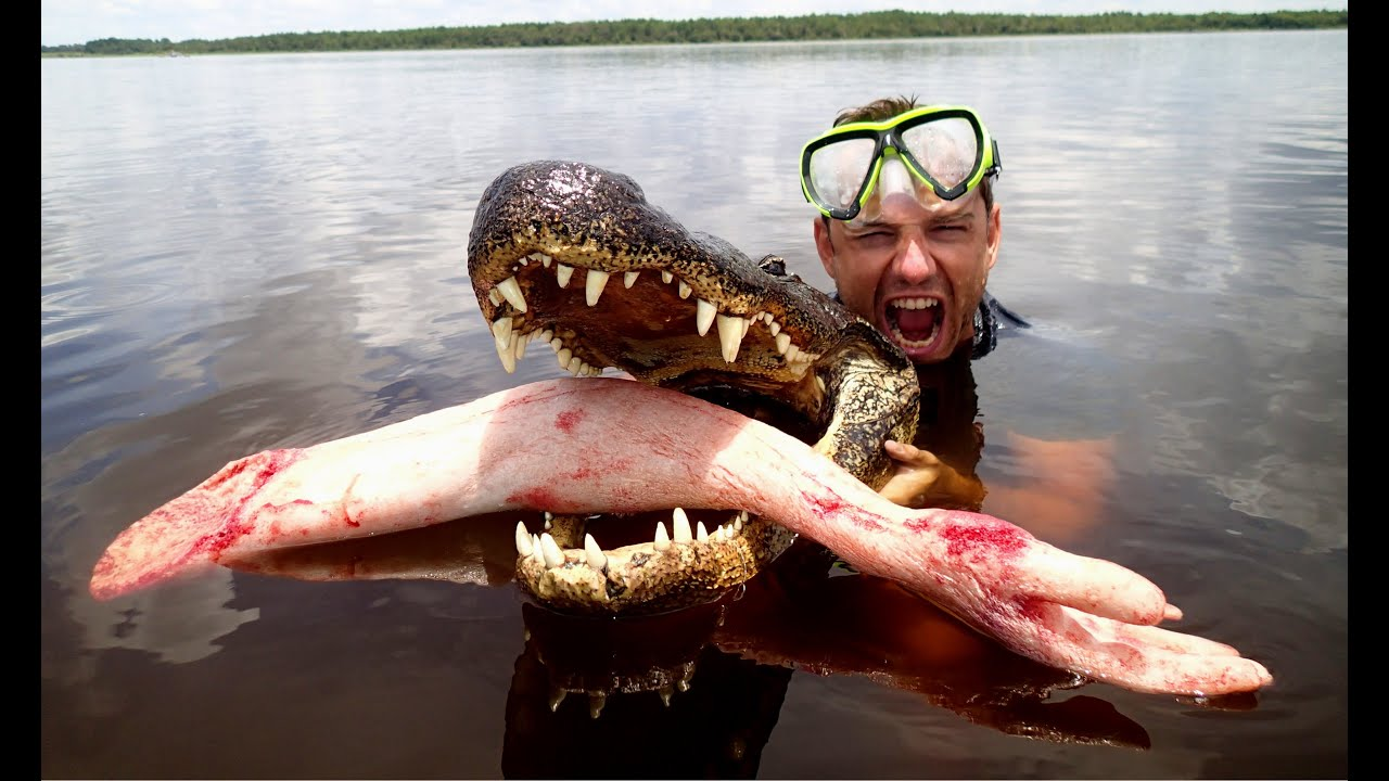 Epic Alligator Attack Prank - YouTube