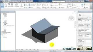 Revit Tutorials: Butterfly Roof In Revit