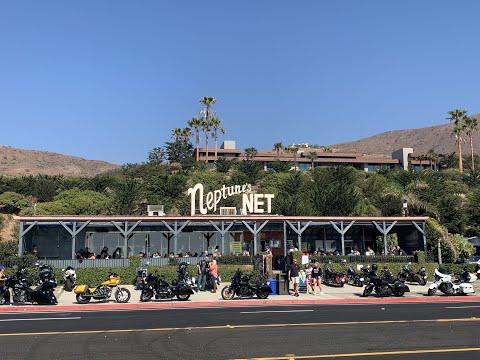 Riding Coast California PCH 1 Malibu To Neptune's Net On FXRT 1985 Full Fxrt Fairing Club Style
