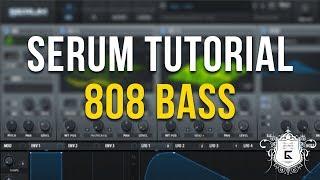 Serum Tutorial - Create Heavy 808 Basses!