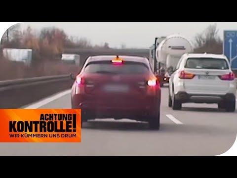 Drängler auf der Autobahn: Abstand und Geschwindigkeit missachtet | Achtung Kontrolle | kabel eins