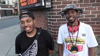 TORONTO HOODS / INTERVIEW/FREESTYLE  WITH MASTA INFERNO & ANDRE GIBSON
