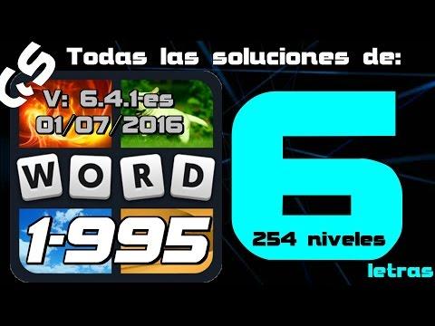 4 Fotos 1 Palabra todas las soluciones de 6 letras 1-995 GS