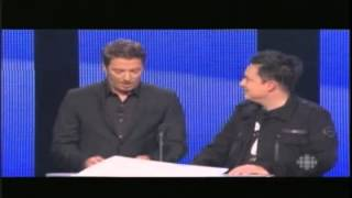 Mike Ward et Patrice L'Ecuyer - Gala Olivier 2012
