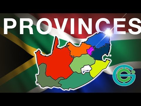 Provinces of SOUTH AFRICA explained (Geography Now!)