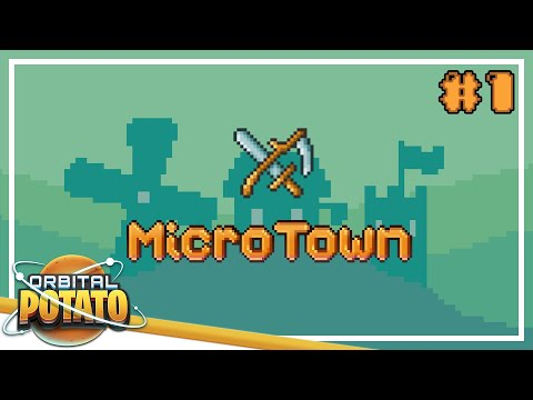 Small Beginnings - MicroTown - City Builder Management Game - Episode #1