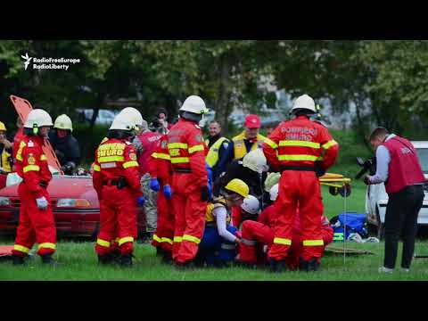 NATO Leads Disaster Response Exercises In Bosnia