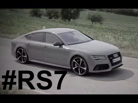 Audi RS7 🔥 - Magazine cover