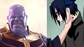 Sasuke VS Thanos
