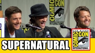 Supernatural Full Comic Con Panel 2014