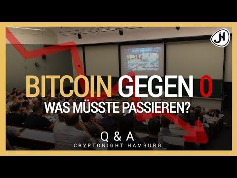 DE/EN: Bitcoin gegen NULL - Was müsste passieren?   Cryptonight Hamburg