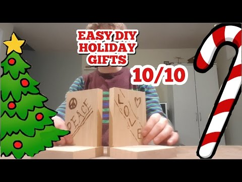 Wood Burning // Easy DIY Holiday Gift Series 10/10