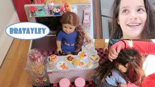 Our Generation Diner Tour with American Girl Dolls | (WK 242.5) | Bratayley