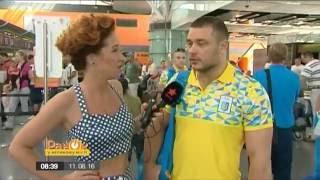 #километрыдобра - тяжелоатлет Дмитрий Чумак уезжает на Олимпийские игры в Рио (ICTV)