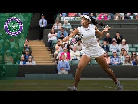 Claire Liu v Ann Li highlights - Wimbledon 2017 girls