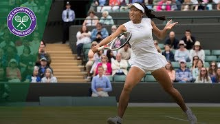 Claire Liu v Ann Li highlights - Wimbledon 2017 girls' singles final