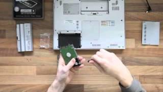 Changer le disque d'un portable Sony VAIO par un disque SSD OCZ Vertex 2