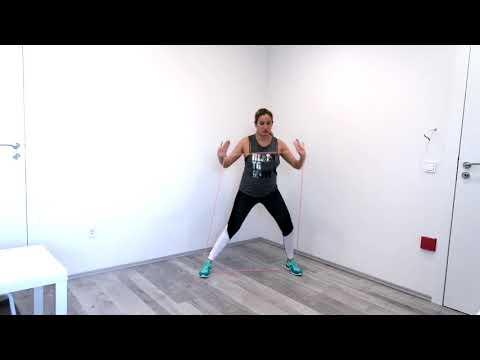Váll és láb edzés