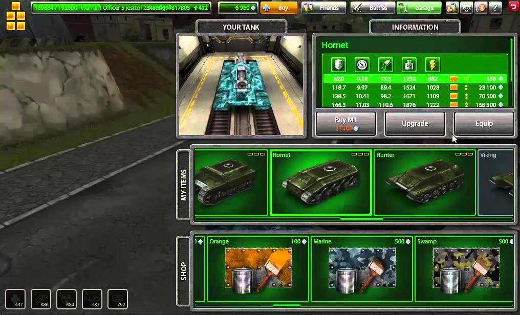 how to play tanki online