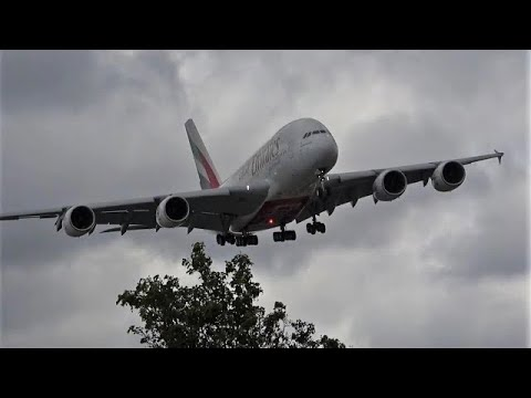 123 planes in 1 hour! London Heathrow LHR 🇬🇧 Plane spotting, Watching airplanes, Heavy (Covid-19)