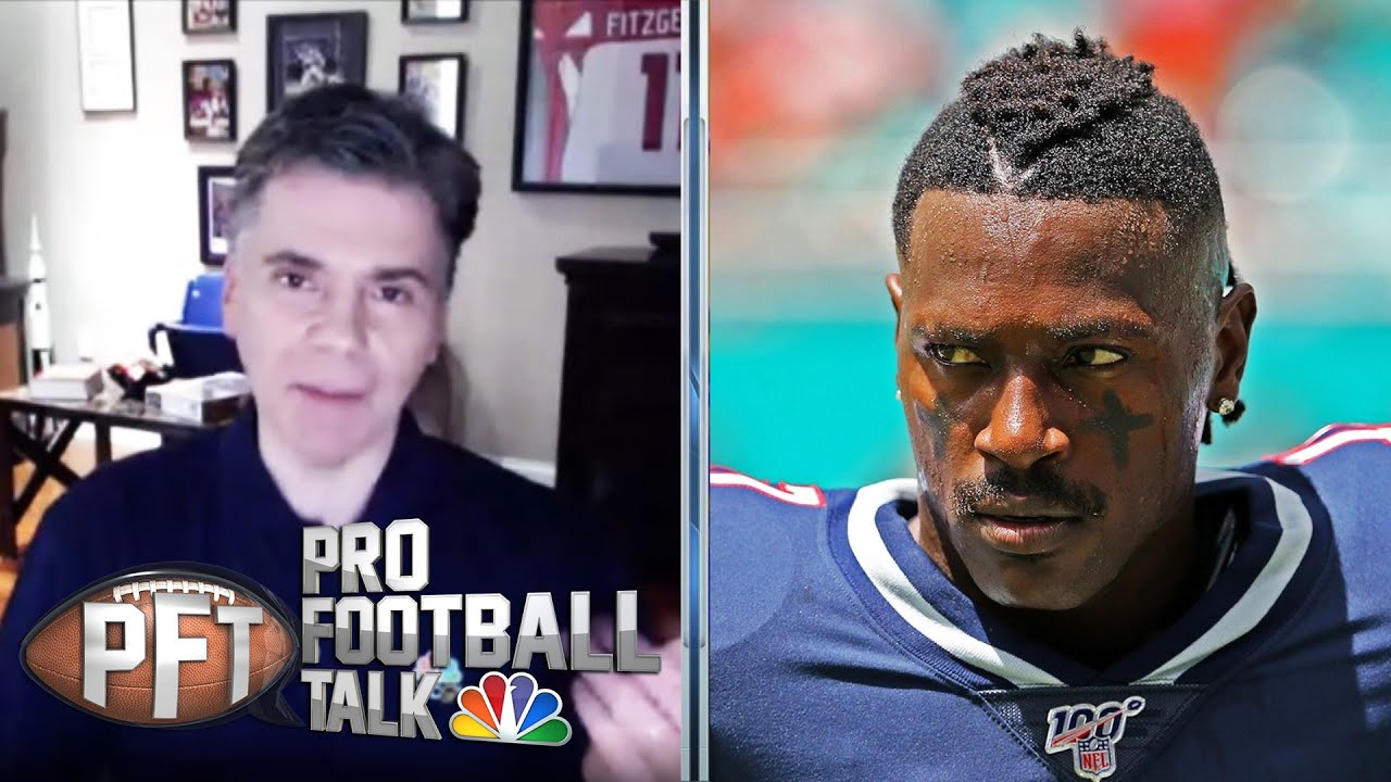PFTPM: NFL suspends Antonio Brown eight games | Pro Football Talk | NBC Sports