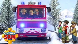 Ice Cold in Pontypandy! | Fireman Sam US ❄️ Ultimate Snow Rescue! | Cartoons for Kids
