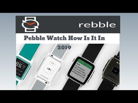 Pebble Smartwatch With Rebble IO In 2019 #pebblewatch #legacytech #rebbleiio