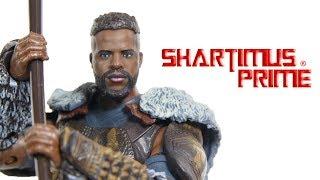 Marvel Legends M'Baku BAF Black Panther Wave 2 Hasbro Movie Toy Build A Figure Review