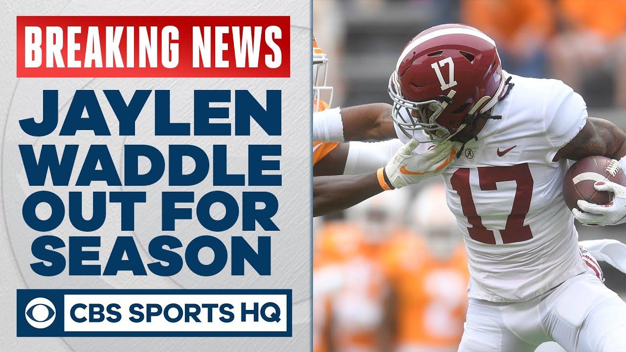 Jaylen Waddle Suffers Season-Ending Ankle Injury on Opening ...